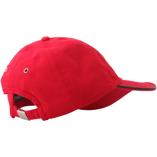 Others Solid - Unisex Cap Solid, Red polish back