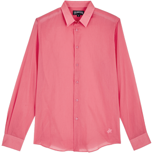 Others Solid - Unisex Cotton Shirt Solid, Cherry blossom front