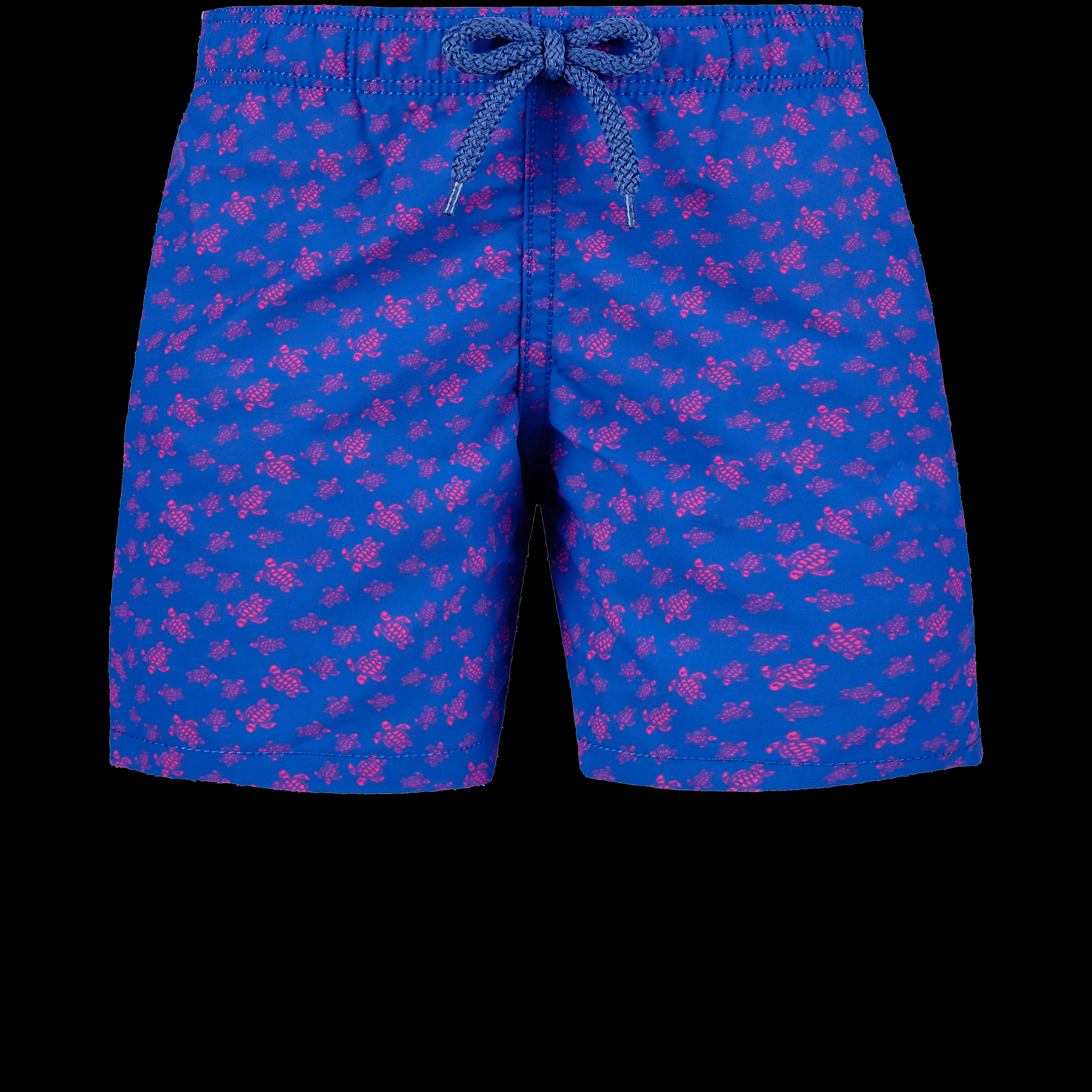 VILEBREQUIN | Boys Swimwear - Boys Swimwear Micro Ronde Des Tortues - SWIMMING TRUNK - JIM - Blue - 14 - Vilebrequin | Goxip
