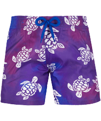 Boys Others Printed - Boys Swim Trunks Ultra-light and packable 1991 Original Turtles, Sea blue front