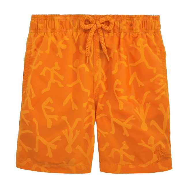 Vilebrequin - Water-reactive Danse du feu Swim Shorts - 3