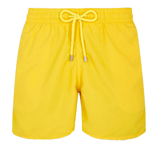 Men Classic Solid - Men swimtrunks Solid, Citron front