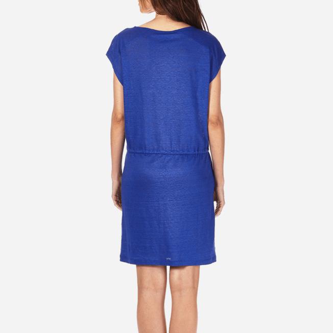 Vilebrequin - Robe courte en Jersey de lin Femme Unie - 6