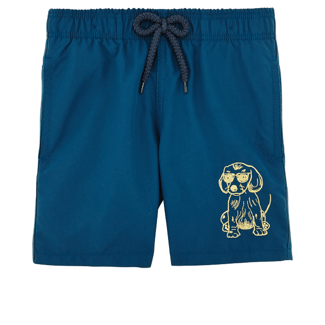 Vilebrequin - SUNNY DOG EMBROIDERED SWIMWEAR - 1