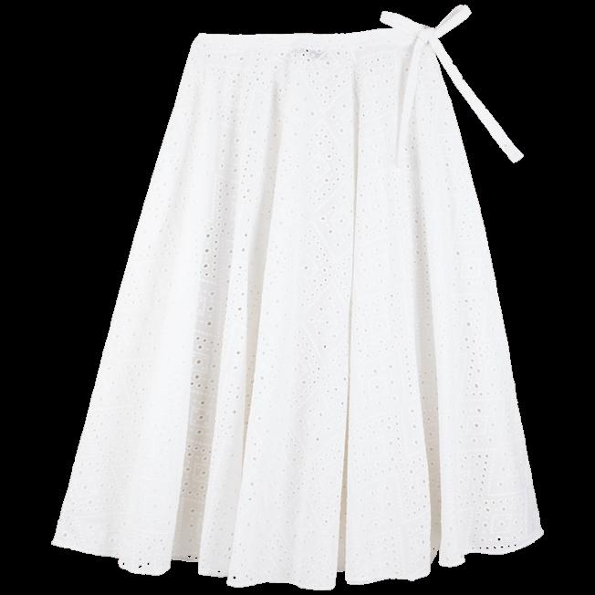 Vilebrequin - Jupe paréo longue en Coton Femme Broderies Anglaises - 2