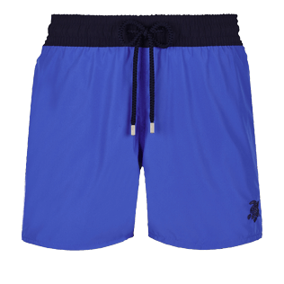 Men Ultra-light classique Solid - Men Swimwear Ultra-light and packable Bicolour, Royal blue front