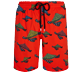 Hombre Clásico largon Estampado - Men Swimwear Long Turtle Swim, Nispero front