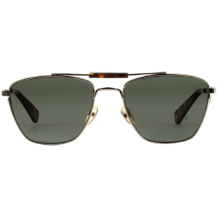 Sunglasses Solid - Khaki mono polarised Sunglasses, Dore front