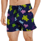 Men Stretch classic Printed - Men Swimwear Stretch Ronde des tortues, Navy supp1