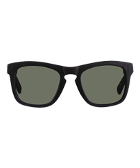 Others Solid - Unisex Sunglasses Polarized Lenses, Black frontworn
