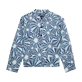 Boys Others Printed - Boys Cotton Voile Shirt Oursinade, Navy front