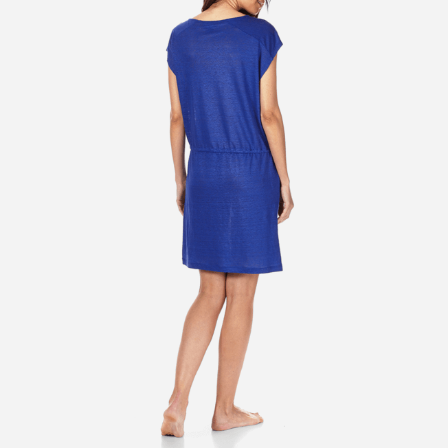 Vilebrequin - Robe courte en Jersey de lin Femme Unie - 4