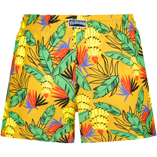 Women Others Printed - Women Swim Short Go Bananas, Curry back