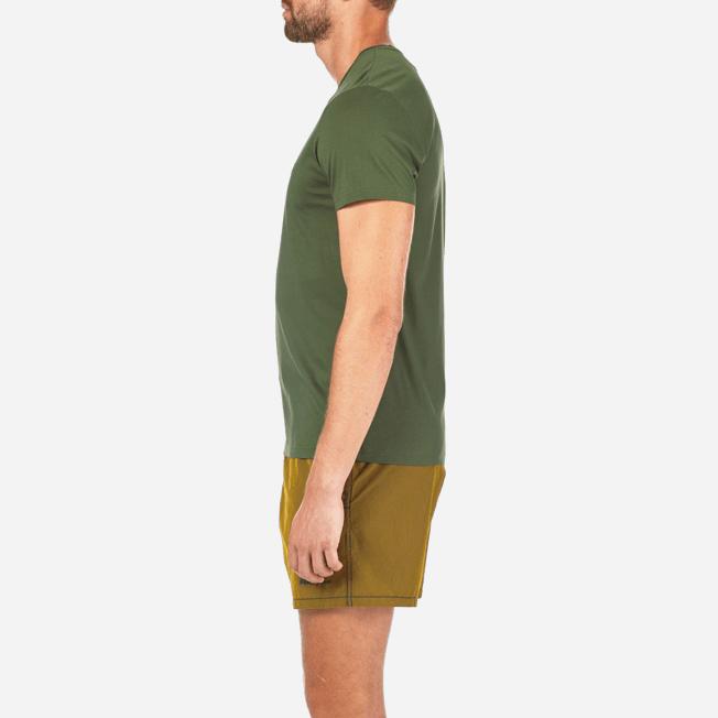 Vilebrequin - Solid V-neck Mercerized cotton T-Shirt - 7