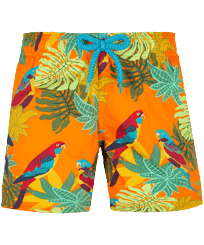 Boys Others Printed - Boys Swim Trunks Stretch 1998 Les Perroquets, Apricot front