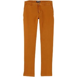 Men Others Solid - Men Chino Pants, Turmeric front
