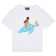 Others Printed - Kids Cotton T-Shirt My Favorite Dad !, White front