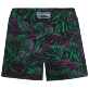 Women Others Printed - Women Stretch Swim Short Madrague, Grass green back