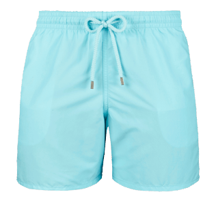 Men Classic Solid - Men Swimwear Solid, Aquamarine front