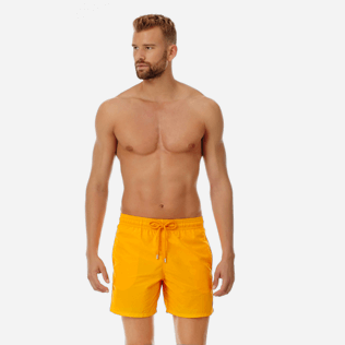 Men Classic Solid - Men Swimwear Solid, Mango frontworn