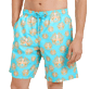 Men Long classic Printed - Men Swimtrunks Long Poulpes, Lagoon supp1