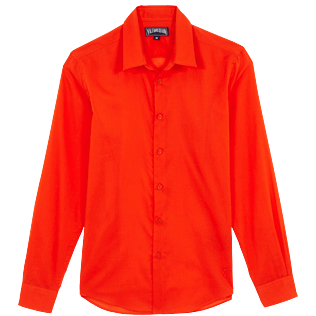Others Solid - Unisex cotton voile Shirt Solid, Medlar front