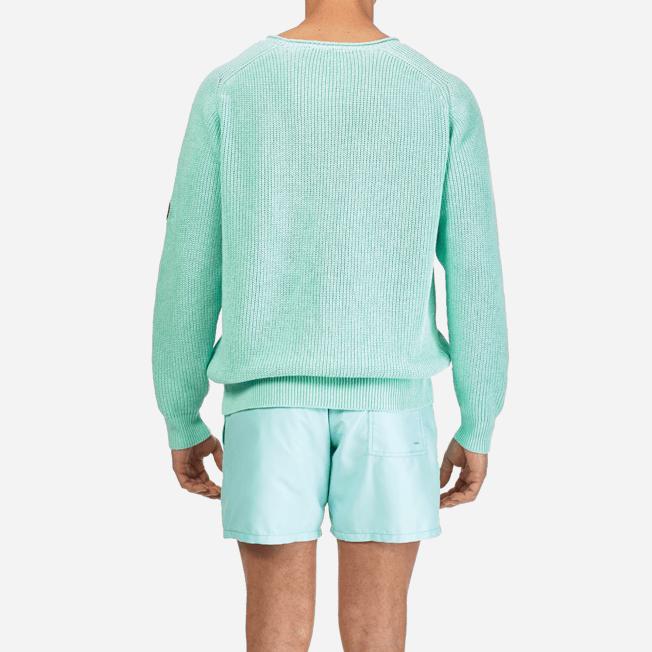 Vilebrequin - Men Cotton Linen Pullover Solid - 6
