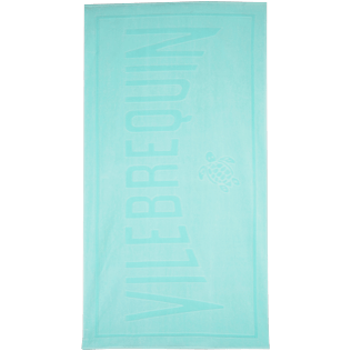 Towels Solid - Jacquard Uni Beach Towel, Lagoon front