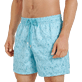 Men Classic Embroidered - Men Swimwear Embroidered Perspective Fish - Limited edition, Lagoon supp1