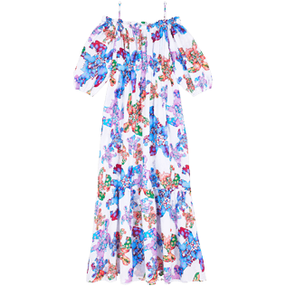 Women Others Printed - Women Cotton Dress Watercolor Turtles, White front