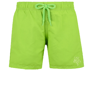 Boys Others Magical - Boys Swim Trunks Water-reactive Fun & Sun Turtles, Wasabi front