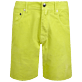 Men Others Uni - Men Velvet Bermuda 5 Pockets, Lemongrass front