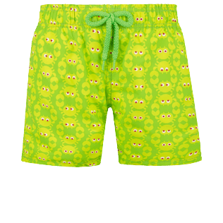 Boys Others Printed - Boys Swimwear Crabs, Wasabi front