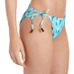 Mujer Braguitas Estampado - Women Brief to be tied Bikini Bottom Bateaux sur l'eau, Laguna supp1