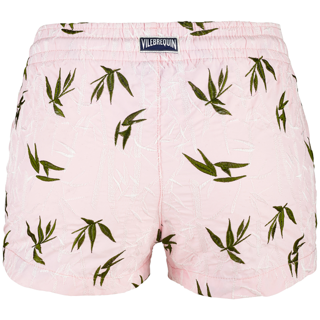 Vilebrequin - Shorty Femme Broderie Bamboo Song - 2