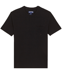 Men Others Solid - Men Organic Cotton T-Shirt Solid, Black front