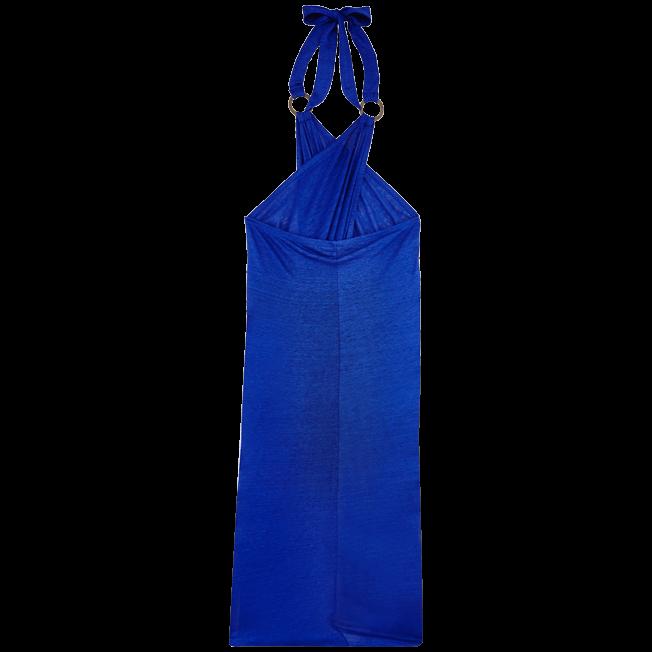 Vilebrequin - Robe paréo en Jersey de lin Femme Unie - 2