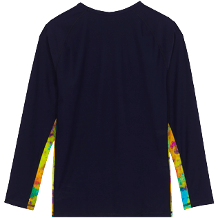 Uomo Altri Stampato - Rash guard uomo Holi Party, Blu marine back
