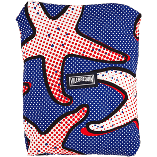 Men Classic / Moorea Printed - Men Lightweight and Packable Swimtrunks Starfish Art, Neptune blue supp5