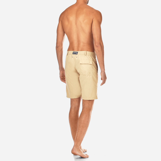 Vilebrequin - Bermuda Droit en matière maillot de bain Homme Uni - 4