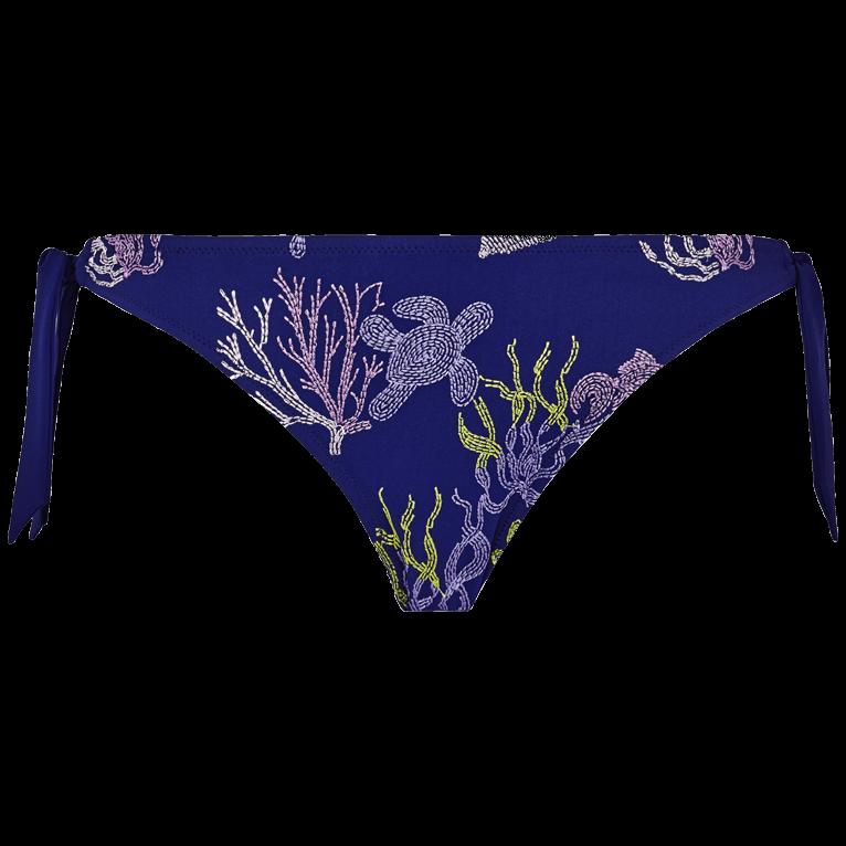 639c9e29b0e7 Slip bikini donna da allacciare Coral and Turtles | Sito web Vilebrequin |  FLAH9C12