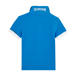 Boys Others Solid - Cotton Boys Polo Shirt Solid, Atoll back