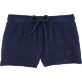 Girls Others Solid - Girls Terry Cloth Shortie Solid, Navy front
