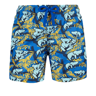 Boys Others Printed - Boys Ultra-Light and packable swimtrunks Sydney - Web Exclusive, Sea blue front