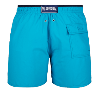 Men Classic Solid - Men swimtrunks Solid Bicolor, Seychelles back