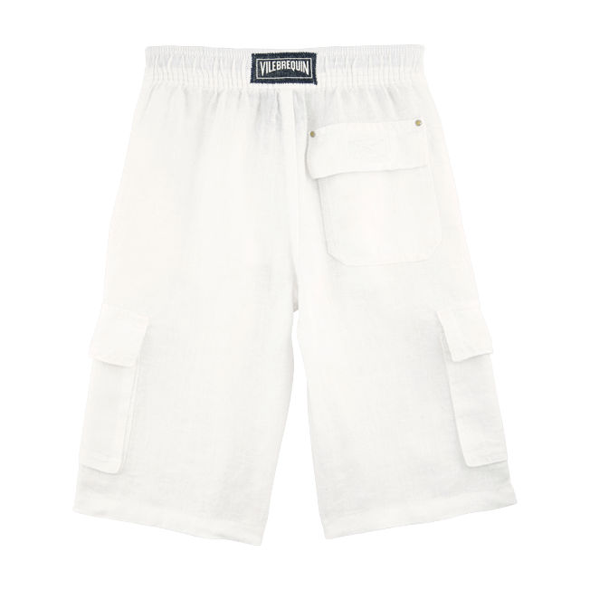 Vilebrequin - Linen bermuda shorts - 2