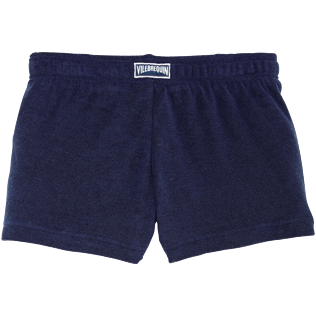 Girls Others Solid - Girls Terry Cloth Shortie Solid, Navy back