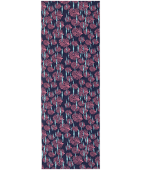 Others Printed - Cotton Voile Pareo Coral & Fish, Navy front