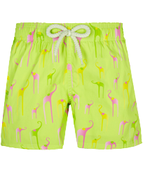 Boys Others Printed - Boys Swimwear Stretch Giaco Elephant, Coriander front