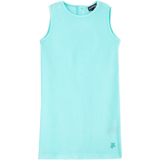 Girls Others Solid - Girls Dress Solid, Lagoon front